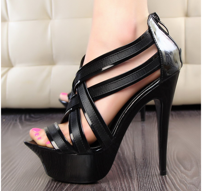 2d3fc0f16 Images of Thin Strap Heeled Sandals