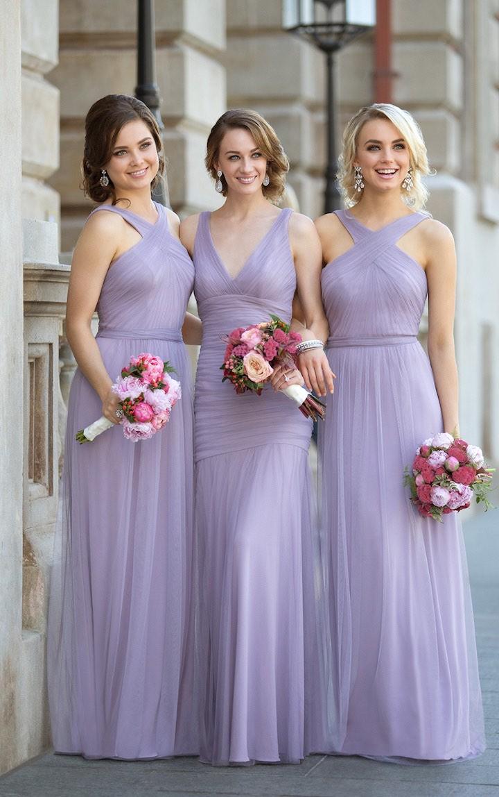 Charming Sleeveless Bridesmaid Dresses Floor Length Pleated Bridesmaid Dresses Lavender A Line Bridesmaid Dresses 115 On Storenvy