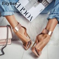 Hot Woman Wedding Shoes Women High Heels Summer Sandals G6752 - Thumbnail 1