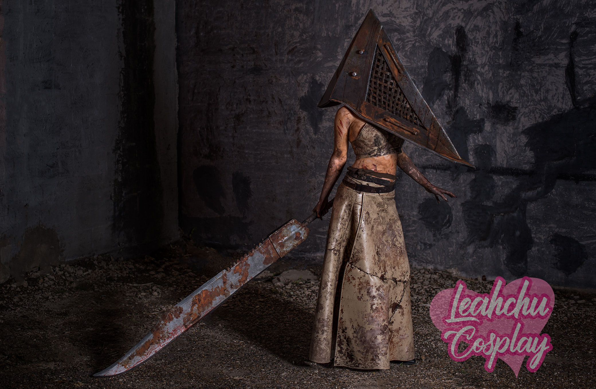 Pyramid Head Silent Hill Cosplay Print Sold By Leahchu Cosplay