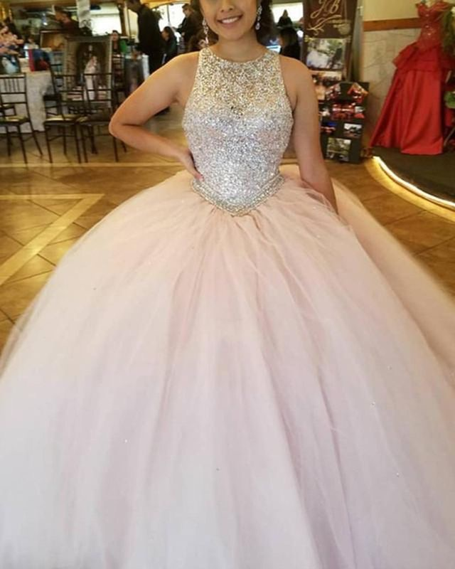 Sparkly Pink Ball Gown Quinceanera Dresses Pageant Gown Dressydances Online Store Powered By Storenvy