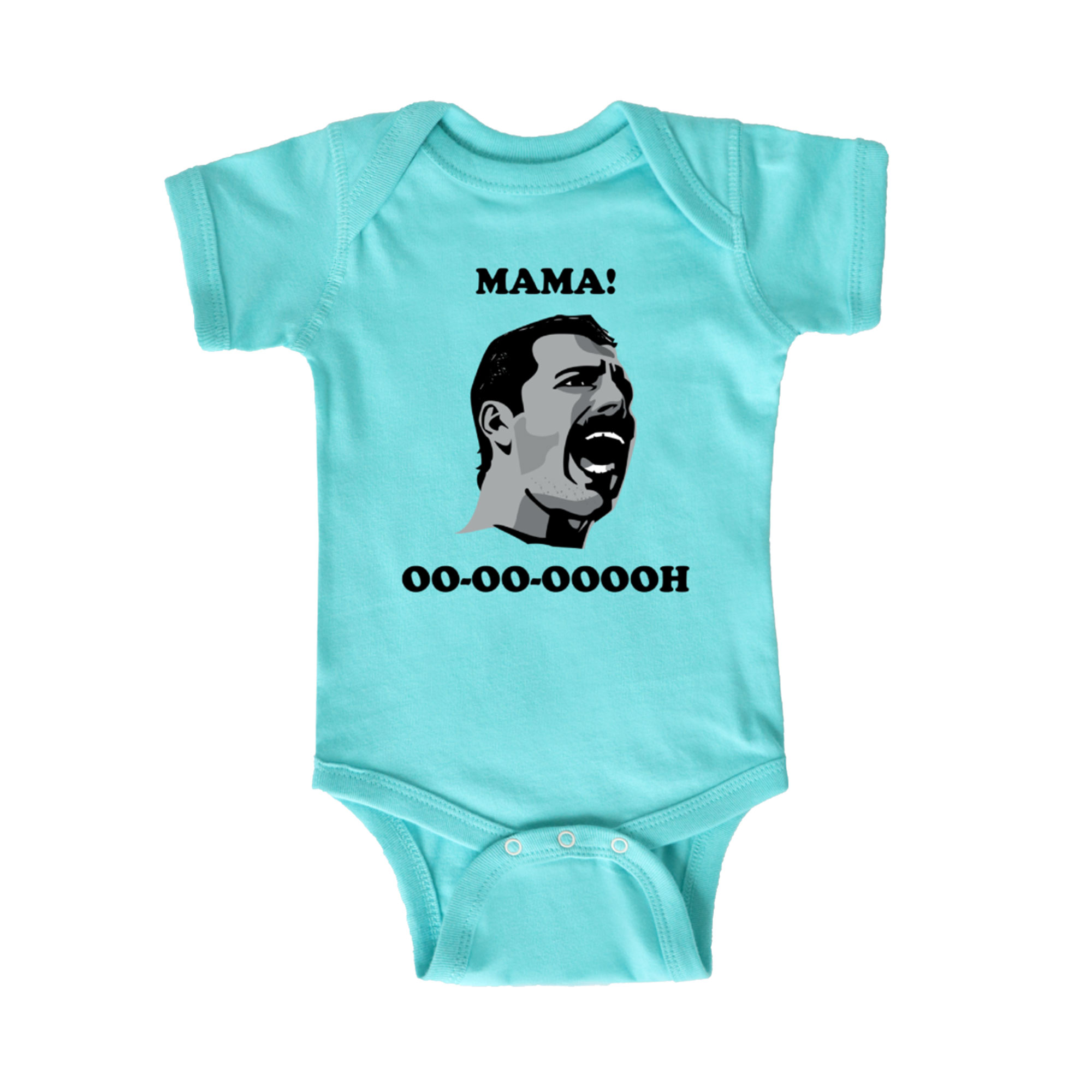 Baby Onepiece Father/'s Day Baby Shower 100/% Cotton Baby One-piece 1st Birthday Baby Gift Freddie Mercury Mama Funny Baby Bodysuit