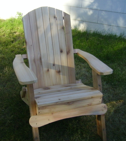 Awesome Folding Adirondack Chair Hand Crafted In Natural 1 Inch Thick Western Red Cedar Sold By Empire Woodworks Squirreltailoven Fun Painted Chair Ideas Images Squirreltailovenorg