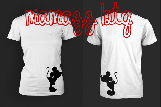 Mickey And Minnie Couples Shirts Mrs Mickey couple shirts