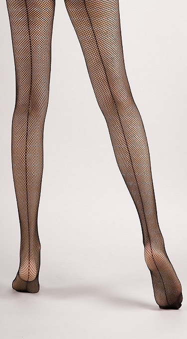 59568d03366 Back Seam Sexy Black Fishnet Tights · Miss Olina · Online Store ...