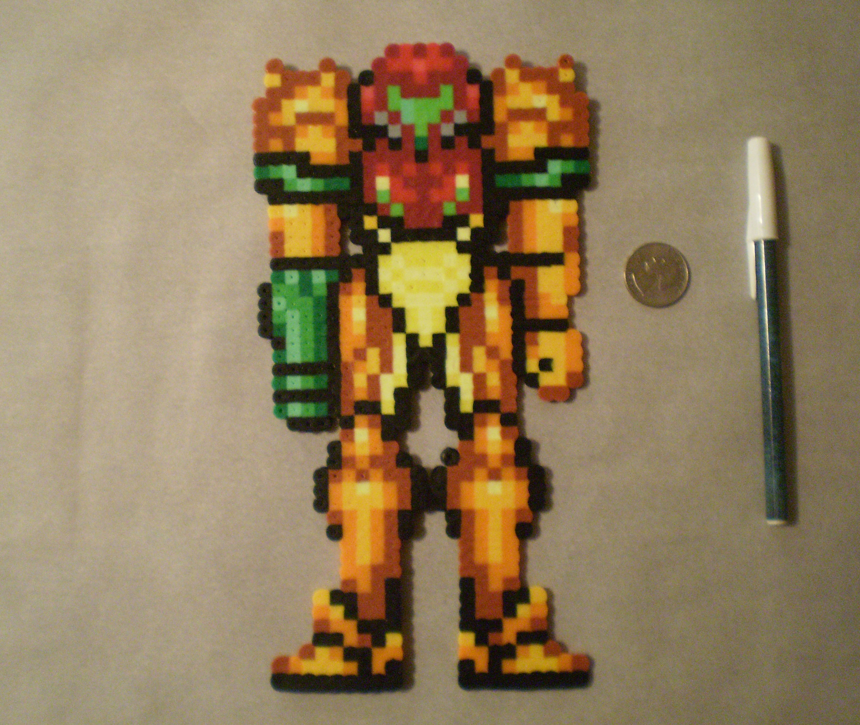 Super Metroid Samus Aran, customized Varia Suit from Jandrem Designs