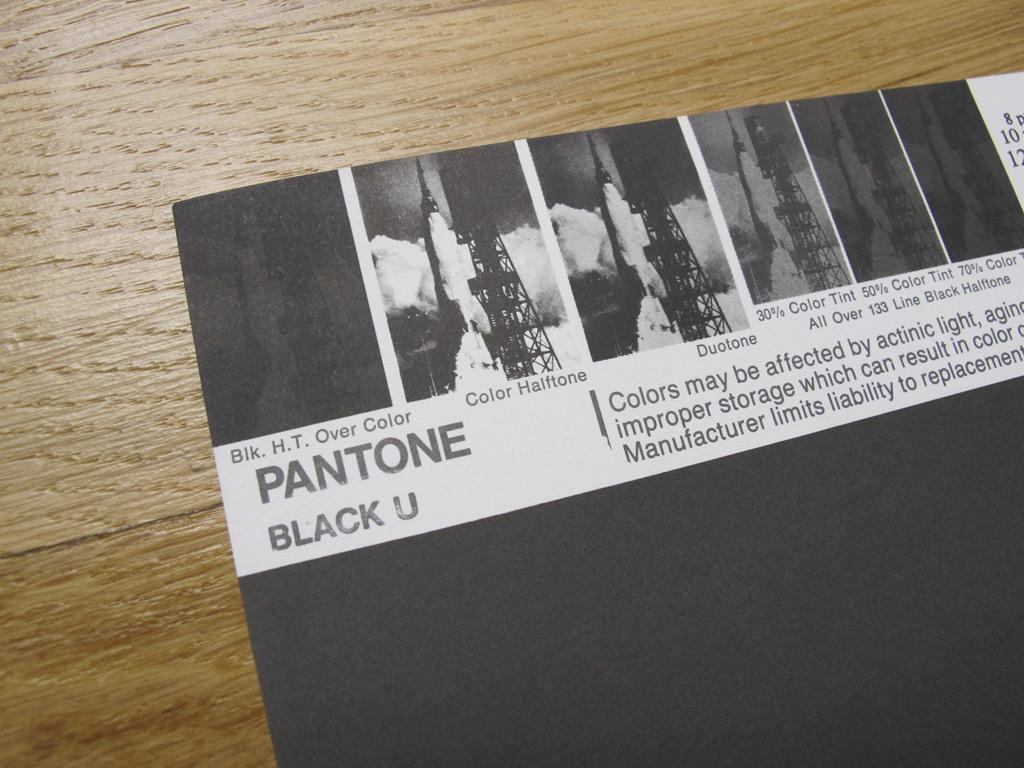 Vintage Pantone 174 Poster Pantone Black U On Storenvy