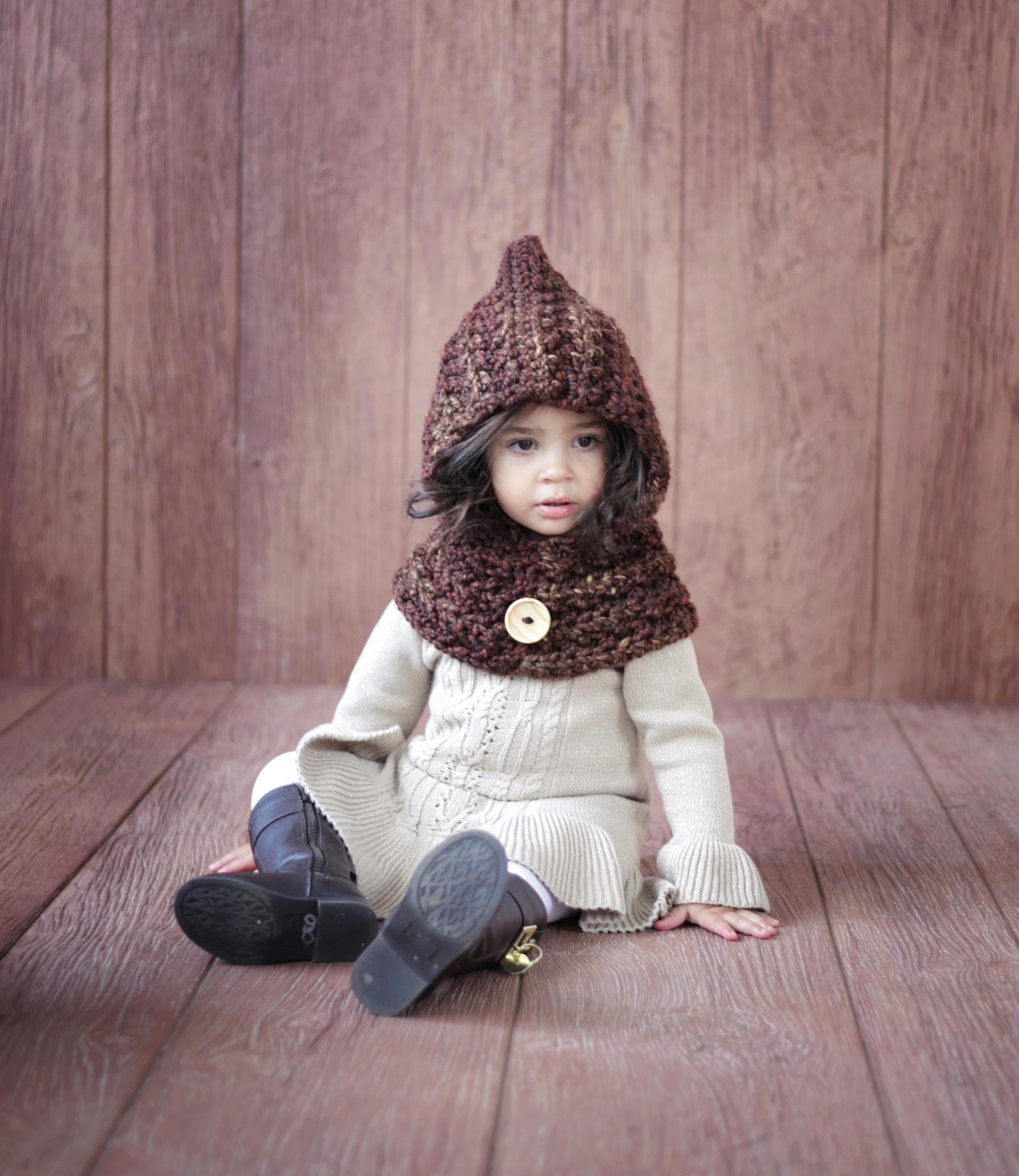Crochet Pattern Hood Cowl The Ginger On Storenvy