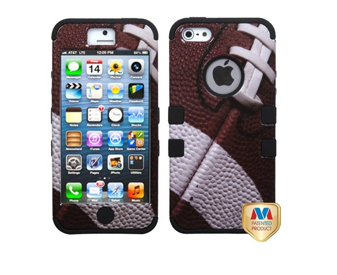 buy popular db4f9 210ee iPhone 6, 5/5S, 5C - Game Time Super Bowl Football Rugged Case from  ShopCMA.Storenvy.com