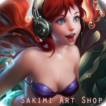 Sakimichan Art Shop on Storenvy